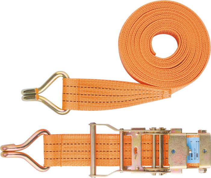 Ремень для крепления багажа Stels, 10 м х 50 мм, с крюками, храповый механизм54387Ремень багажный из синтетического материала с крюками на концах. Храповый механизм обеспечивает лёгкость натяжения ремня. Данный ремень применяется для закрепления предметов в решетчатых поддонах, прежде всего в открытых багажниках.