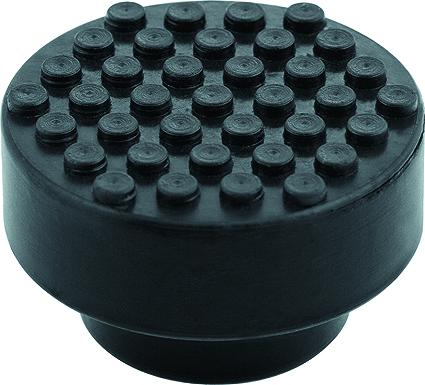 Резиновая опора для подкатного домкрата Matrix, диаметр 51 мм50903Резиновая опора Matrix предназначена для установки на чашку подкатных домкратов STELS. Исключают повреждения автомобиля при подъеме. Изготовлен из высококачественной противоударной резины. Диаметр верхний: 51 мм. Диаметр нижний: 36 мм. Высота: 32 мм.