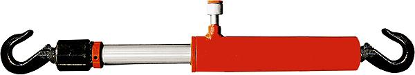 Цилиндр гидравлический Matrix , 10 т, стяжной с крюками513505Гидроцилиндр стяжной предназначен для стягивания и рихтовки кузовов автомобилей и применяется в комплекте с набором для растяжки рихтовки металлоконструкций и кузовов автомобилей.