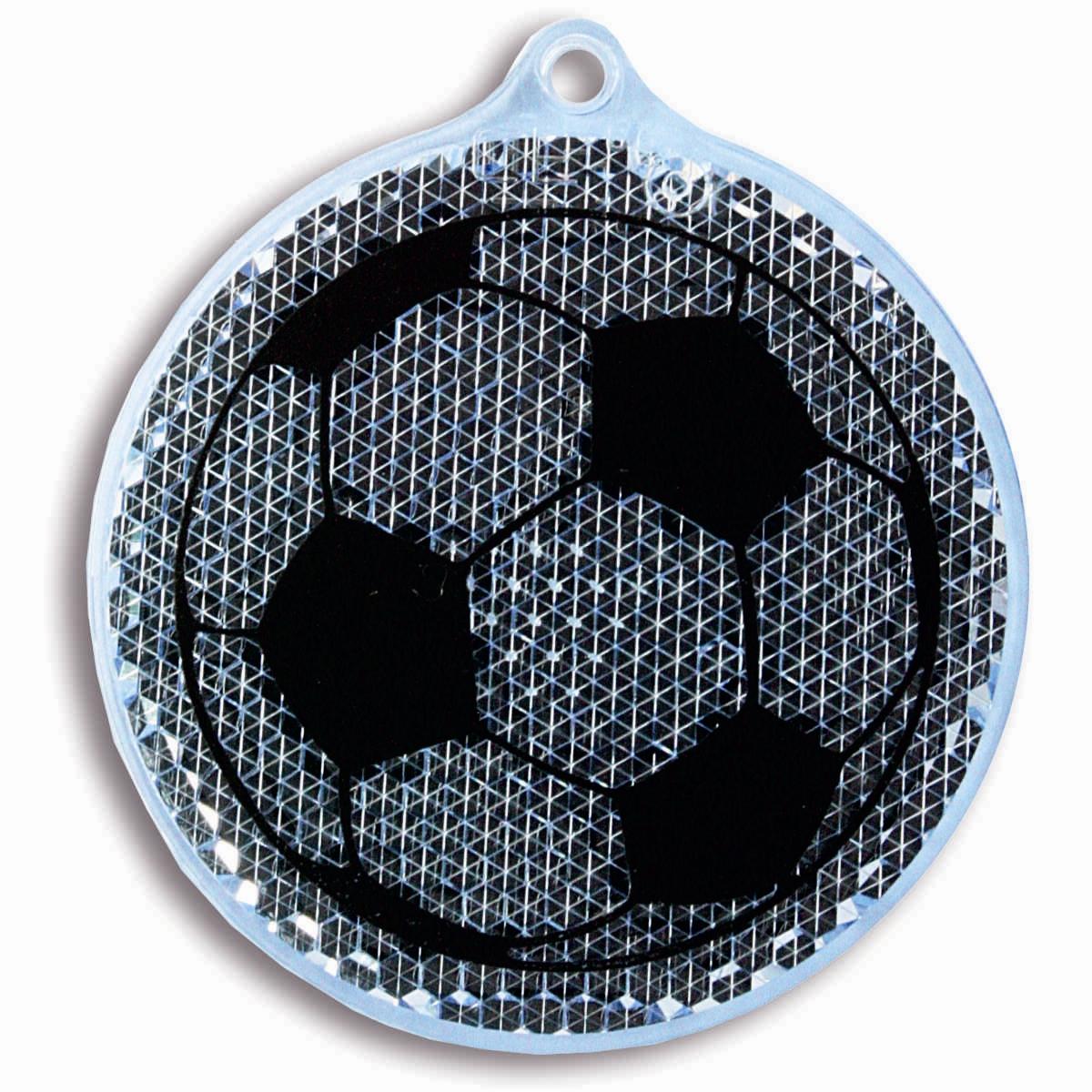 Световозвращатель пешеходный Coreflect Мяч, цвет: синий118702Пешеходный светоотражатель — это серьезное средство безопасности на дороге. Использование светоотражателей позволяет в десятки раз сократить количество ДТП с участием пешеходов в темное время суток. Светоотражатель крепится на одежду и обладает способностью к направленному отражению светового потока. Благодаря такому отражению, водитель может вовремя заметить пешехода в темноте, даже если он стоит или двигается по обочине. А значит, он успеет среагировать и избежит возможного столкновения.