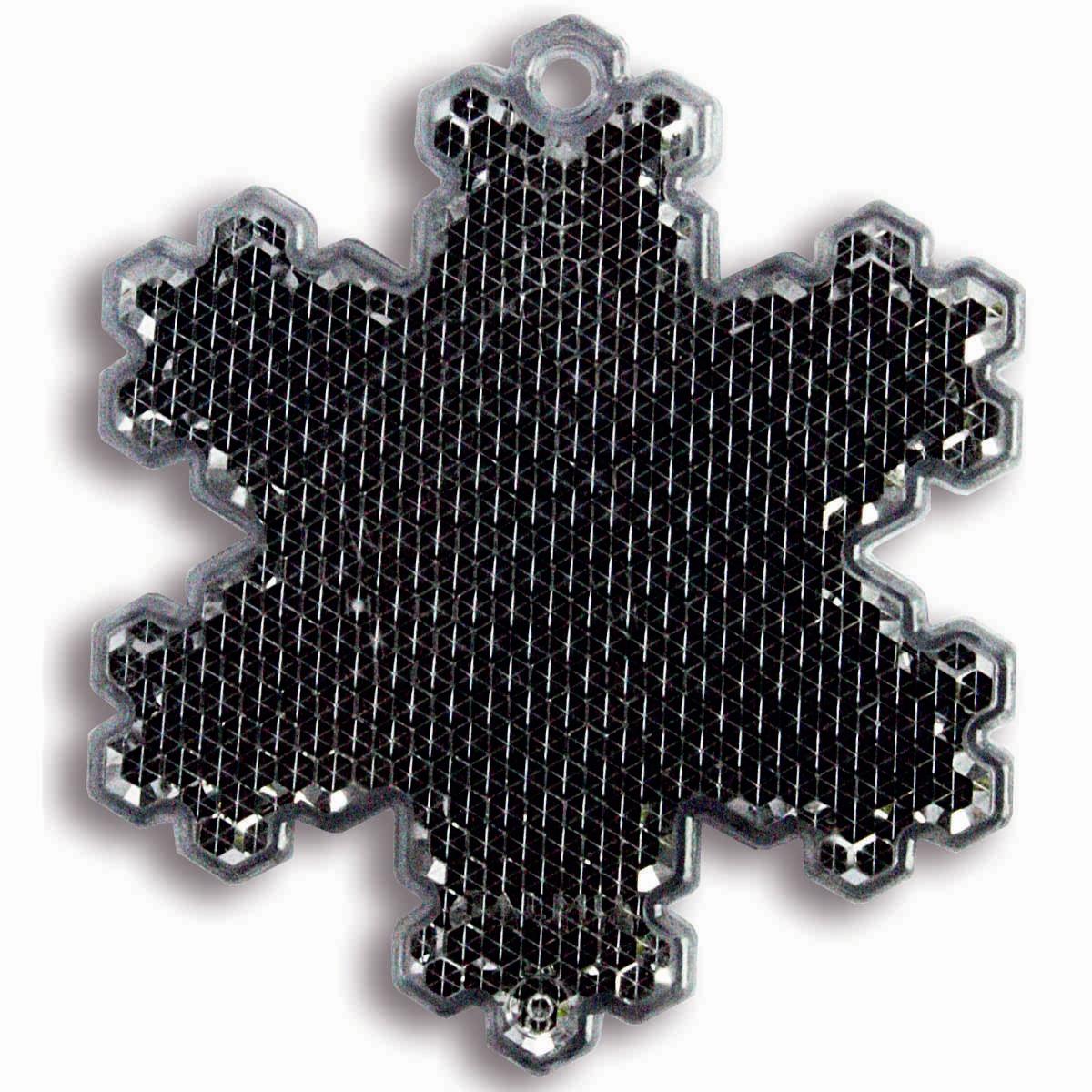 Световозвращатель пешеходный Coreflect Снежинка, цвет: черный118714Пешеходный светоотражатель — это серьезное средство безопасности на дороге. Использование светоотражателей позволяет в десятки раз сократить количество ДТП с участием пешеходов в темное время суток. Светоотражатель крепится на одежду и обладает способностью к направленному отражению светового потока. Благодаря такому отражению, водитель может вовремя заметить пешехода в темноте, даже если он стоит или двигается по обочине. А значит, он успеет среагировать и избежит возможного столкновения.