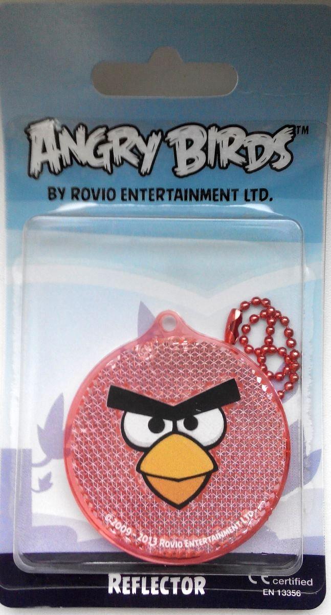 Световозвращатель пешеходный Coreflect Angry Birds Круг, цвет: красный123881Пешеходный светоотражатель — это серьезное средство безопасности на дороге. Использование светоотражателей позволяет в десятки раз сократить количество ДТП с участием пешеходов в темное время суток. Светоотражатель крепится на одежду и обладает способностью к направленному отражению светового потока. Благодаря такому отражению, водитель может вовремя заметить пешехода в темноте, даже если он стоит или двигается по обочине. А значит, он успеет среагировать и избежит возможного столкновения.