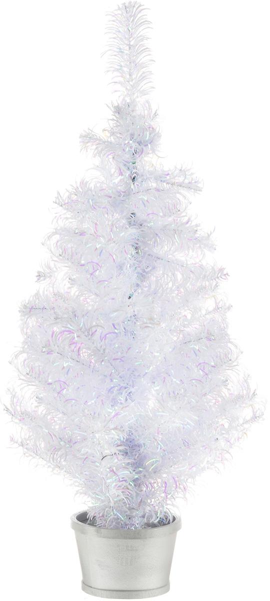 Елка настольная Weiste, в горшке, цвет: белый, сиреневый, высота 80 см5021CO2Настольная елка Weiste, выполненная их ПВХ - прекрасный вариант для оформления интерьера к Новому году. Елка установлена в горшочек. Собирать елку не нужно, достаточно просто распушить веточки. Ветки ели очень густые и пушистые. Иголочки не осыпаются, не мнутся, со временем не выцветают. Сказочно красивая новогодняя елка украсит интерьер вашего дома и создаст теплую и уютную атмосферу праздника. Откройте для себя удивительный мир сказок и грез. Почувствуйте волшебные минуты ожидания праздника, создайте новогоднее настроение вашим дорогим и близким.