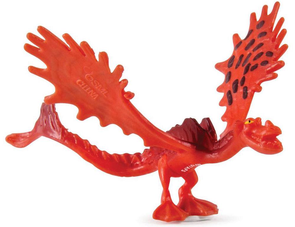 Dragons Мини-фигурка Hookfang66562_20065289Мини-фигурка Dragons Hookfang приведет в восторг вашего ребенка. Она выполнена из яркого пластика в виде Кривоклыка, дракона Сморкалы из популярного мультфильма Как приручить дракона 2. Кривоклык, или Ужасное Чудовище, имеет огненный окрас и отличается большим размахом крыльев. Благодаря небольшому размеру ребенок сможет брать дракончика с собой на прогулку или в гости. С такой фигуркой ваш ребенок с удовольствием окунется в гущи событий мультфильма, будет проигрывать любимые сцены или придумывать свои истории!
