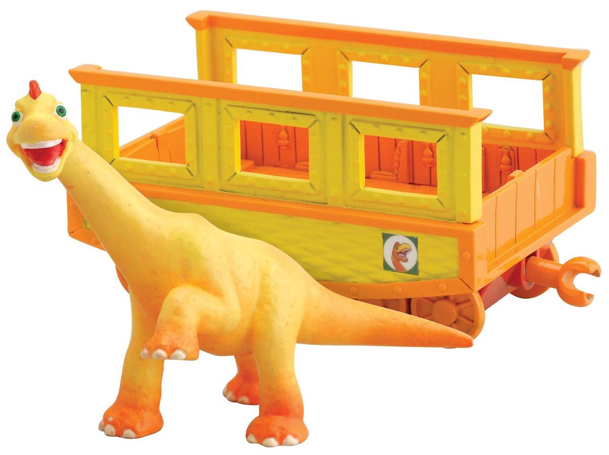 """Игровой набор Tomy """"Поезд Динозавров: Нэд с вагончиком"""" Т57084"""