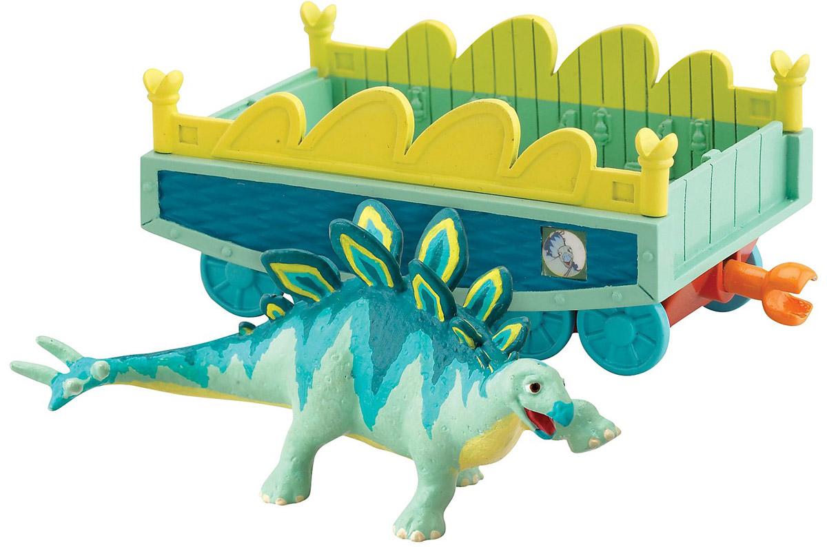Игровой набор Tomy Поезд Динозавров: Морис с вагончикомТ57082Игровой набор Tomy Поезд Динозавров: Морис с вагончиком приведет в восторг вашего ребенка. Набор выполнен из яркого пластика и включает бирюзово-желтый вагончик с окошками и фигурку в виде динозавра Мориса - персонажа мультсериала Поезд Динозавров. Колесики вагончика крутятся; малыш сможет катать в нем динозаврика. С помощью сцепок с обеих сторон вагончик подсоединяется к другим вагончикам этой серии, образуя веселый поезд динозавров! Ребенок с удовольствием будет играть с этим набором, воспроизводя сценки из мультсериала или придумывая свои увлекательные истории. Порадуйте его таким замечательным подарком!