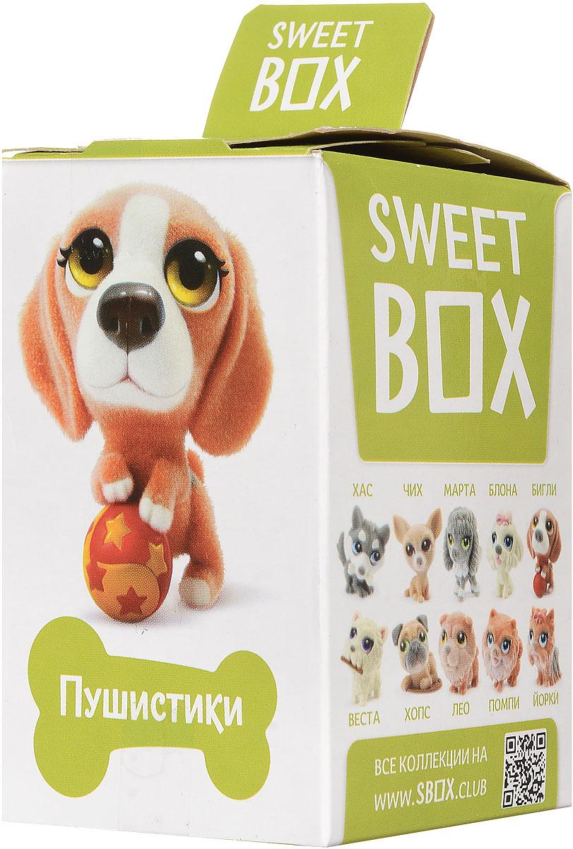 Sweet Box Пушистики Щенята Коллекция №1 жевательный мармелад с игрушкой, 10 г6942971507123Sweet Box (Сладкая коробочка) - коробочка со сладостями и игрушкой. Свитбоксы популярны среди детей и взрослых, коллекционирующих игрушки. Персонажи коллекций открывают удивительные миры, вовлекают в игру, дарят незабываемые впечатления. В коллекции 10 персонажей, а сама игрушка выполнена из качественного пластика, изображает животное из мультфильма Пушистики. Пока не откроете коробочку - не узнаете, какая игрушка вам попалась! Игрушка предназначена для детей старше трех лет. Уважаемые клиенты! Обращаем ваше внимание, что полный перечень состава продукта представлен на дополнительном изображении.