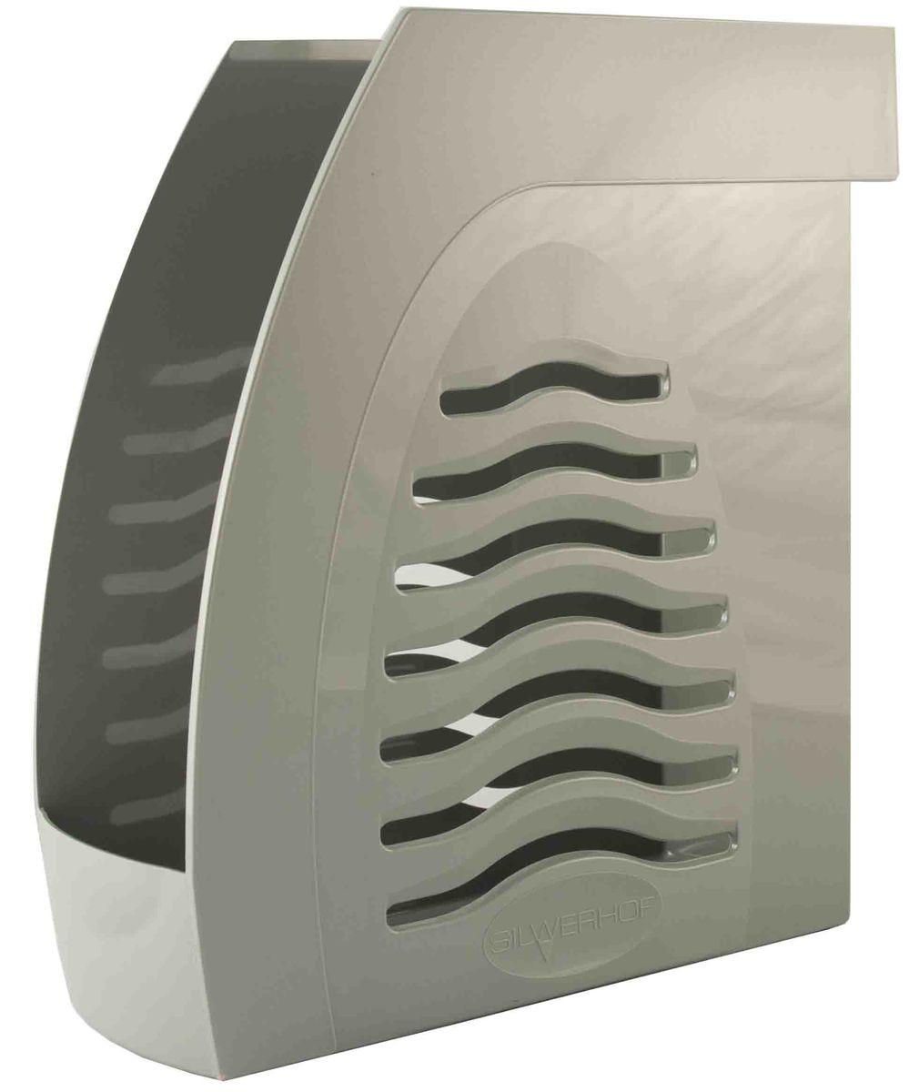 Silwerhof Лоток для бумаг Dune цвет серый 1 отделение 29 х 23 х 9,5 см472107-51Для бумаг и папок формата А4 и А4+. Низкий передний порог облегчает изъятие документов из накопителя. На задней стенке расположен удобный захват для переноски лотков. Размер 290*230*95 мм.