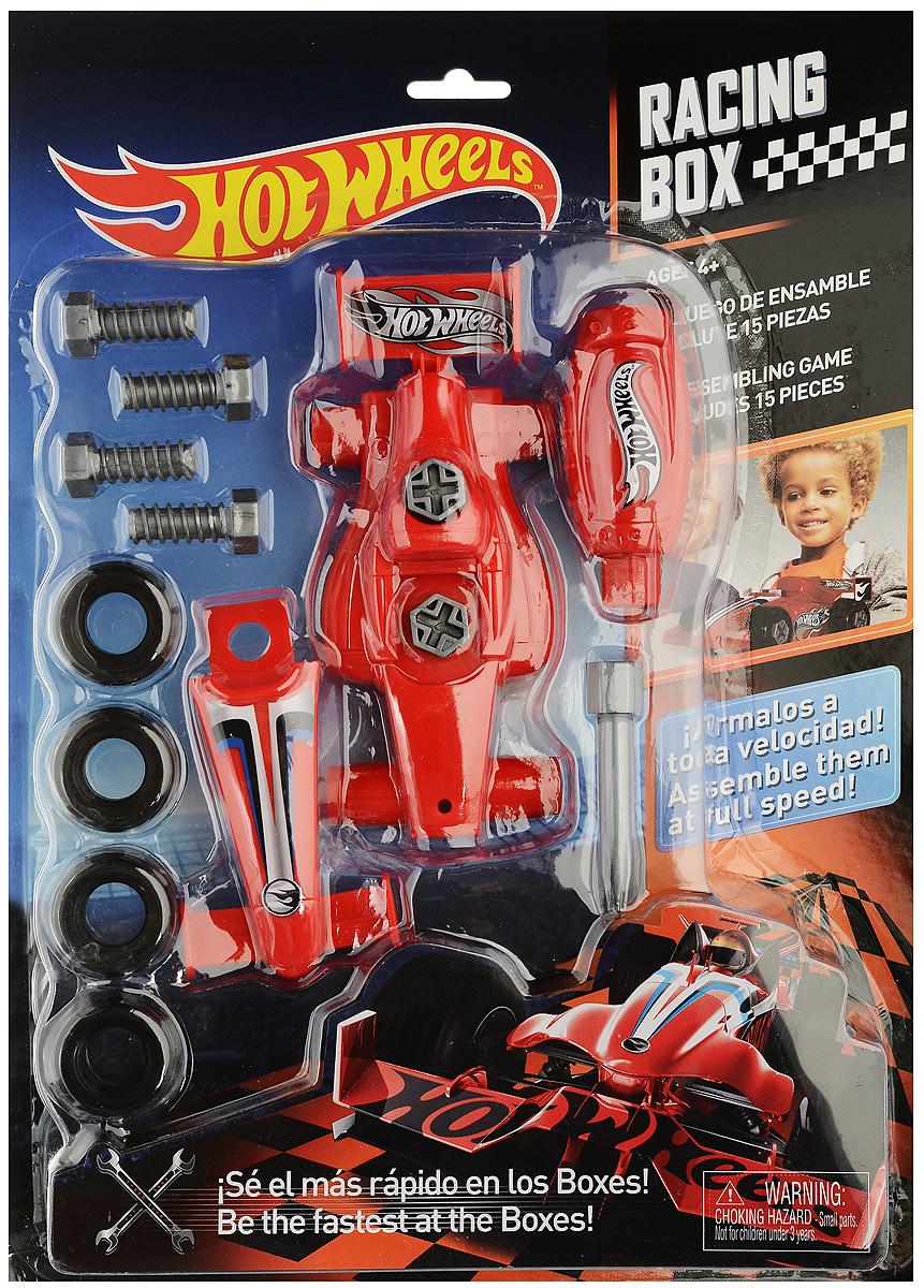 Corpa Игровой набор Юный механик Hot Wheels HW221HW221Игровой набор Corpa Юный механик Hot Wheels позволит вашему малышу почувствовать себя настоящим механиком и погрузиться в удивительный мир техники и конструирования! Все малыши любят разбирать игрушки и изучать, как они устроены. Этот игровой набор позволит малышу самому сначала собрать, а затем разобрать гоночную модель автомобиля. Все элементы набора изготовлены из высококачественного яркого пластика. Собранной моделью можно играть как простой машинкой. С таким набором ваш ребенок весело проведет время, играя на детской площадке или в песочнице. А процесс сборки игрушки поможет малышу развить мелкую моторику пальчиков, внимательность и усидчивость. Порадуйте своего малыша такой чудесной игрушкой!