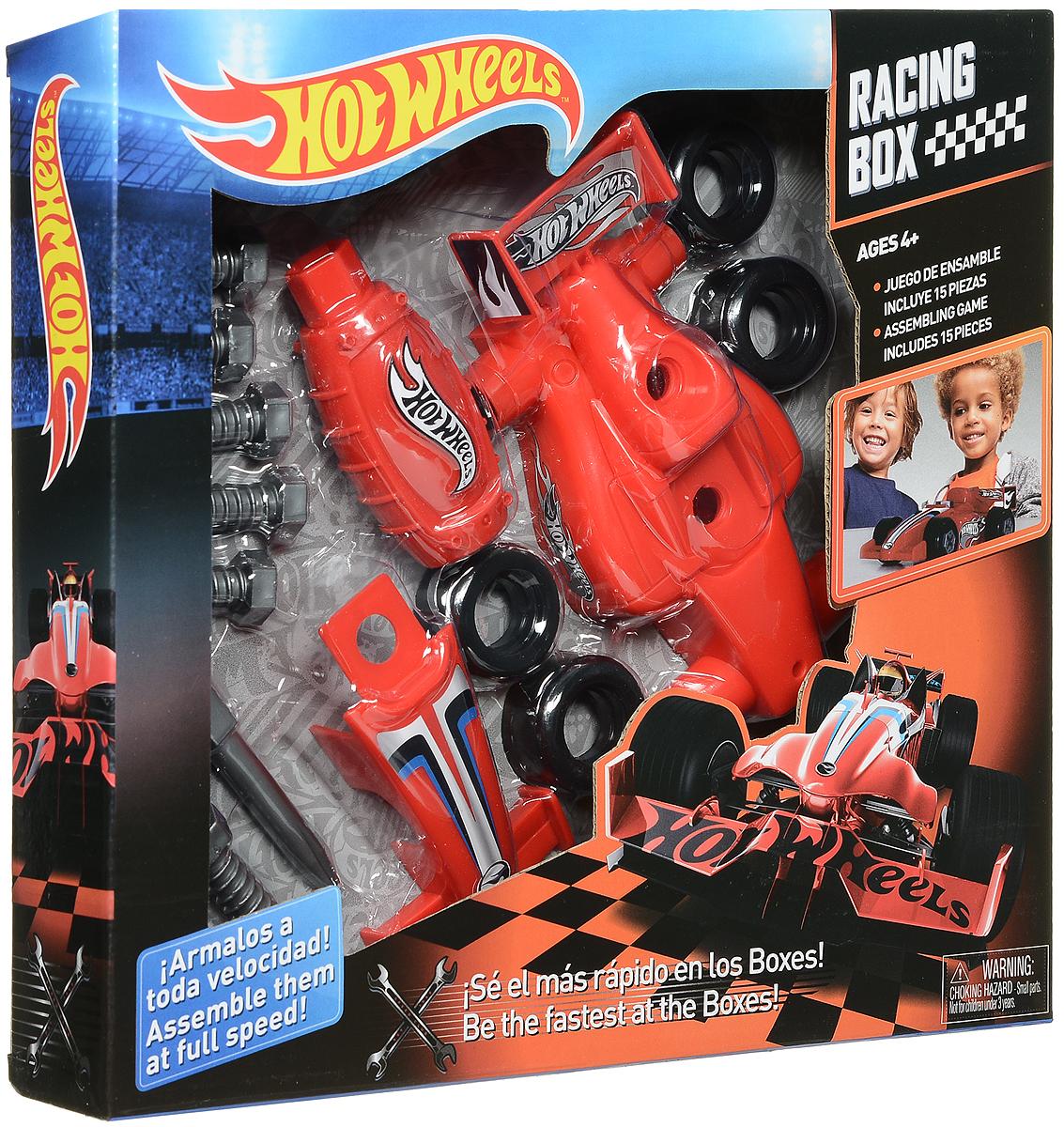 Corpa Игровой набор Юный механик Hot Wheels HW222HW222Игровой набор Corpa Юный механик Hot Wheels позволит вашему малышу почувствовать себя настоящим механиком и погрузиться в удивительный мир техники и конструирования! Все малыши любят разбирать игрушки и изучать, как они устроены. Этот игровой набор позволит малышу самому сначала собрать, а затем разобрать гоночную модель автомобиля. Все элементы набора изготовлены из высококачественного яркого пластика. Собранной моделью можно играть как простой машинкой. С таким набором ваш ребенок весело проведет время, играя на детской площадке или в песочнице. А процесс сборки игрушки поможет малышу развить мелкую моторику пальчиков, внимательность и усидчивость. Порадуйте своего малыша такой чудесной игрушкой!