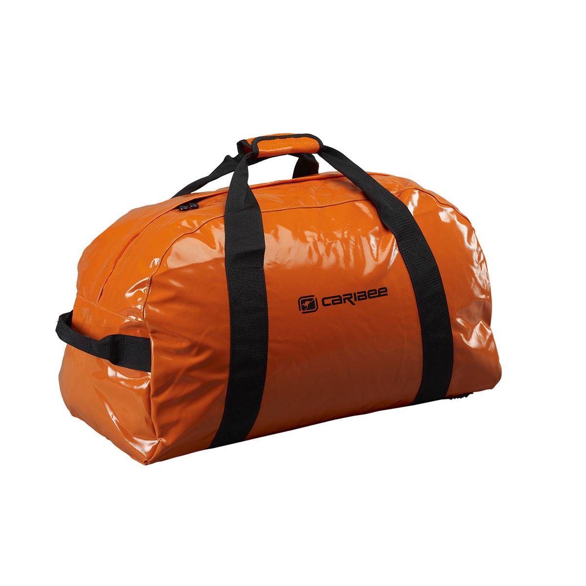 Сумка спортивная Caribee Zambezi, цвет: оранжевый, 65 л57222Сумки для снаряжения от Caribee это стильный дизайн, легкий вес и большая вместительность! Как и все сумки Caribee, этот модельный ряд был разработан с учетом привлекательного вида, практичной функциональности и прочной конструкции. Будьте уверены, что вы доберётесь до места назначения и ваш багаж будет в полной сохранности! Собираясь в поход с нашими сумками, вы можете позволить себе взять все необходимые вещи, и там еще останется достаточно места что бы уместить парашют ;) Сумка из материала, устойчивого к промоканию даже в штормовую погоду; Устойчивые к воде молнии; Ручки вшиты по всей окружности корпуса сумки, для дополнительной прочности; Дополнительные удобные ручки с торцов сумки для переноски. Объем: 65 л Размер: 65*32*32 см