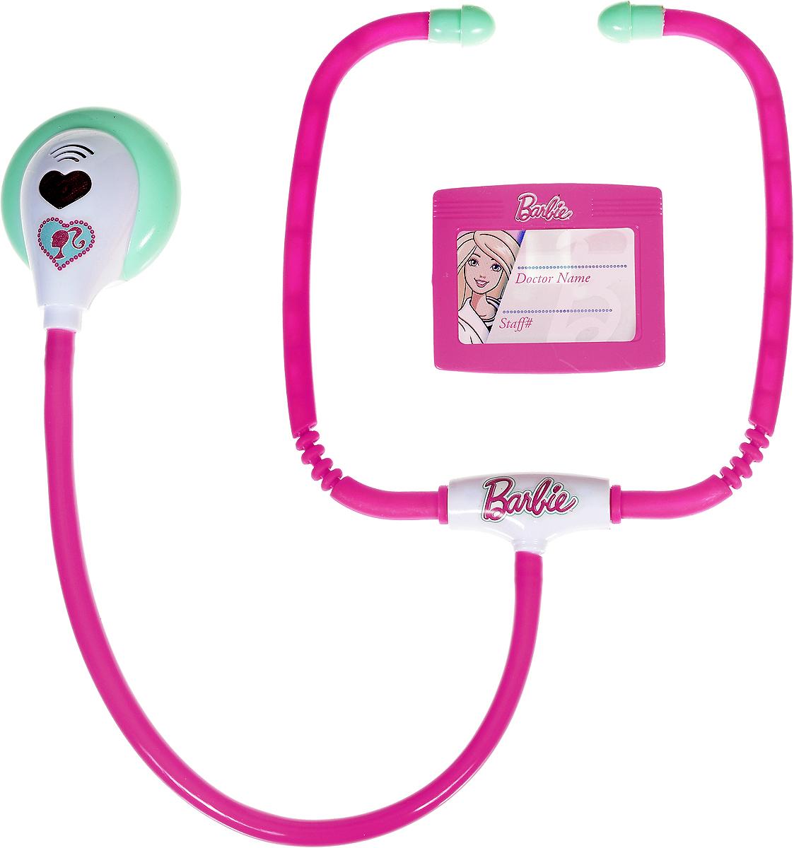 Corpa Игровой набор Юный доктор Barbie 2 предметаD121CИгровой набор Corpa Юный доктор Barbie - это замечательный подарок для вашей девочки, которая сможет почувствовать себя настоящим врачом. В набор входит: стетоскоп - это медицинский инструмент, с помощью которого ваша дочурка сможет послушать ритм сердца и дыхания своих пациентов и бейдж - совсем как у настоящего врача. С таким набором ваша малышка сможет примерить на себя сложнейшую, но очень интересную профессию доктора и даже стать настоящим специалистом в области здравоохранения, оказывая медицинскую помощь любимым игрушкам. Все инструменты исключительно безопасны, выполнены из прочных материалов и оснащены звуковыми и световыми эффектами. Для работы стетоскопа потребуются 2 батарейки типа AG13 (товар комплектуется демонстрационными).