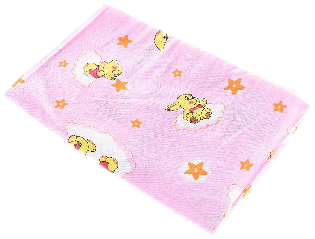 Фея Наволочка детская Мишки зайки звезды 40 см х 60 см0001056-2_розовыйДетская наволочка Фея Мишки, зайки, звезды, идеально подойдет для подушки вашего малыша. Изготовленная из натурального 100% хлопка, она необычайно мягкая и приятная на ощупь. Натуральный материал не раздражает даже самую нежную и чувствительную кожу ребенка, обеспечивая ему наибольший комфорт. Приятный рисунок наволочки, несомненно, понравится малышу и привлечет его внимание. На подушке с такой наволочкой ваша кроха будет спать здоровым и крепким сном. Уход: стирка при 40 °C, гладить при температуре не выше 150 °C, нельзя отбеливать, не подлежит химчистке.