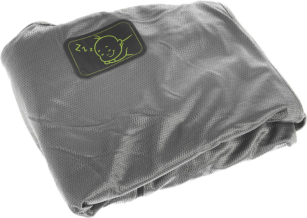 Шторка защитная SnoozeShade Классик Плюс Делюкс, для детских колясок, цвет: серый3000500167СнузШейд (SnoozeShade) Классик ПЛЮС Делюкс - универсальная защитная шторка для детских колясок. Она была изобретена в Великобритании специально, чтобы детки могли крепко спать в своих колясках во время прогулки или поездки. Это простое и элегантное решение проблемы сна ребенка вдали от дома. На прогулке или в дороге, в магазине или на пикнике, шторки на коляску Снузшейд мгновенно создадут малышу уютное и спокойное гнездышко для сна. Снузшейд защищает от солнца, непогоды, насекомых и взглядов прохожих. Ребенок долго и спокойно спит, а Вы спокойно занимаетесь своими делами. Что может быть чудесней! Шторка SnoozeShade® «Классик ПЛЮС» Делюкс - это просто, безопасно и красиво. Вам больше не придется завешивать коляску одеждой или одеялом во время детского сна. Шторка пригодится Вам и на прогулке, и на празднике, и в гостях и во время поездки. Особенности шторок SnoozeShade Классик ПЛЮС Делюкс: Большой размер Одинаково хорошо подходит для...