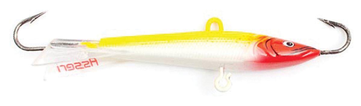 Балансир Asseri, цвет: желтый, белый, красный, длина 3 см, вес 2 г. 513-03005513-03005Балансир Asseri - это приманка, предназначенная для ловли в отвес. Основным и самым важным отличием балансиров от зимних блесен является способность играть в горизонтальной плоскости. Такая игра имитирует естественные движения мелкой рыбы, которые меньше настораживают хищника. С каждым годом приманки заслуженно занимают место в арсенале любителей зимней ловли хищника. Качественный и стильный балансир Asseri изготовлен по последним новейшим технологиям.