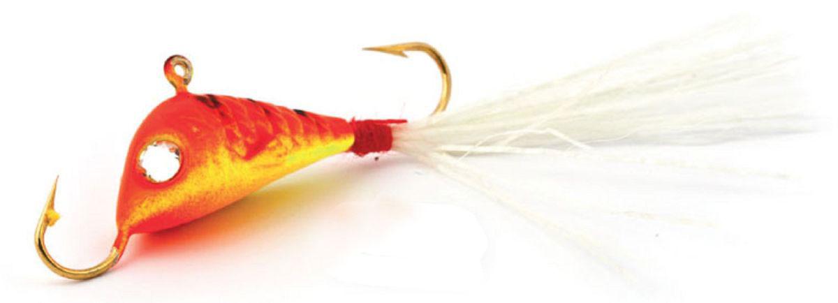 Балансир Finnex, длина 3,5 см, вес 5 г. BLR2-RETBLR2-RETБалансир Finnex имеет светящийся хвостик, который поможет приманить рыбу на глубине в несколько метров. Форма этого балансира напоминает мелкую рыбку. Балансир оснащен блестящим глазком, что делает его более заметным и позволяет привлечь рыбу с более дальнего расстояния. Изделие изготовлено из прочного свинцового сплава с элементами пластика.