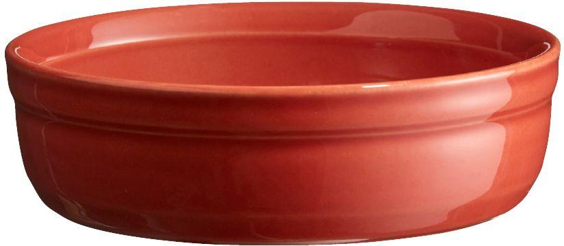 Рамекин Emile Henry, цвет: терракот, диаметр 12 см321013Порционная форма рамекин Emile Henry предназначена как для готовки, так и для сервировки отдельных порций. Идеально подходит для кухни в загородном доме. Высокопрочная керамика (HR ceramic) великолепно распределяет и сохраняет тепло, что и требуется для приготовления помадок, гратенов, рассыпчатых и открытых пирогов. Форма не боится перепадов температур, и ее можно ставить в духовку сразу после того, как она была вынута из морозильной камеры. Покрытие формы устойчиво к появлению сколов и царапин, а его цвет остается ярким даже после многократного использования в посудомоечной машине.