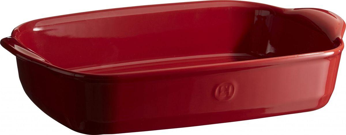 Форма для запекания Emile Henry Ultime, прямоугольная,цвет: гранат349652Формы для запекания Ultime. Новый дизайн, стирающий границы между идеальной керамической формой для запекания и посудой для сервировки. Мягкие, щедрые формы великолепно подходят для приготовления всех видов блюд – от лазаньи до жаркого. Благодаря удобным ручкам форму комфортно извлекать из духовки. Поставьте форму на стол – это выглядит крайне элегантно. Формы Ultime изготовлены из HR Ceramic (высоко-устойчивая) и могут быть использованы как в морозилке (-20°C), так и в духовке (270°C) и даже на гриле. Они устойчивы к ежедневным испытанием на кухне. Ингредиенты блюд, приготовленных в HR Ceramic пропекаются равномерно, не пересыхают, долго сохраняют тепло. Высокие стенки формы позволяют приготовить щедрые порции блюд. Широкий ассортимент 5 блюд различного размера (от индивидуальной порции до большой формы на всю семью), цвета (крем, гранат) и формы (квадратная и прямоугольная) удовлетворит запросы хозяек. Кромка снизу ручки обеспечивает противоскользящий эффект и...