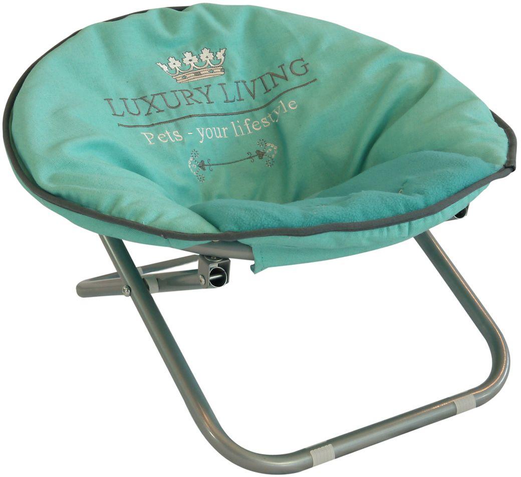 Стул для домашник животных Happy House Luxsury Living, цвет: мятный, 55х51х36 см, до 15 кг4017-8