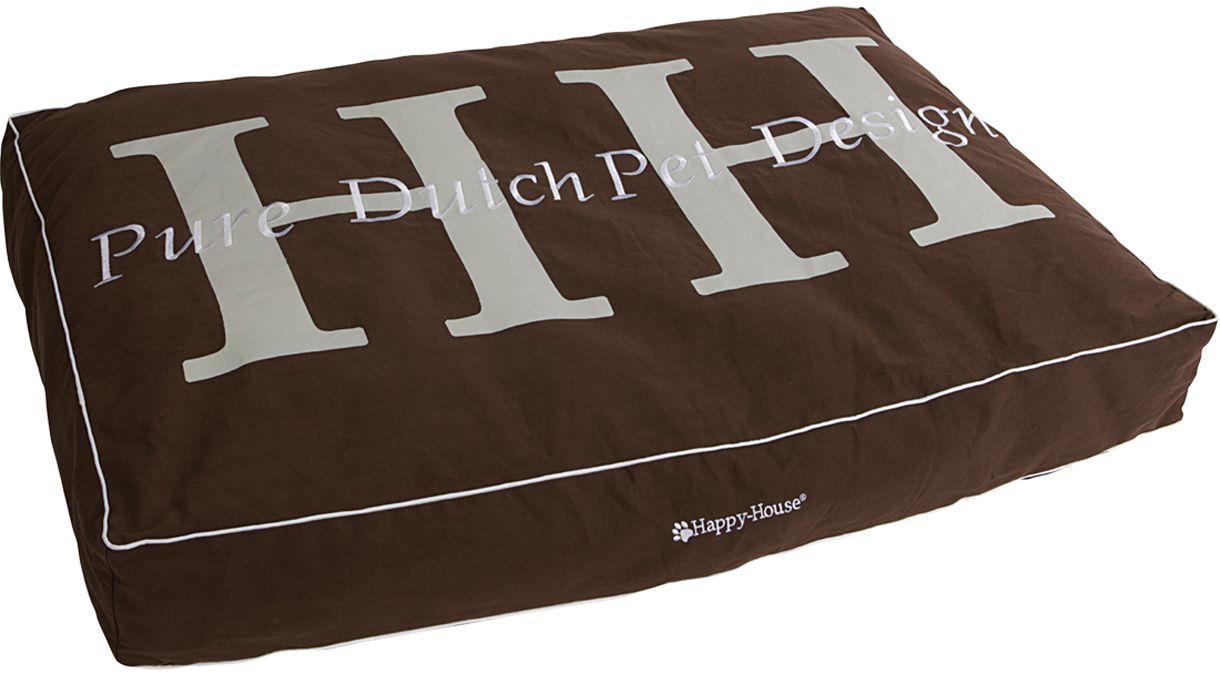 Подушка для домашних животных Happy House Pure Dutch Pet Design, цвет: коричневый, 95х65х15 см8180-5