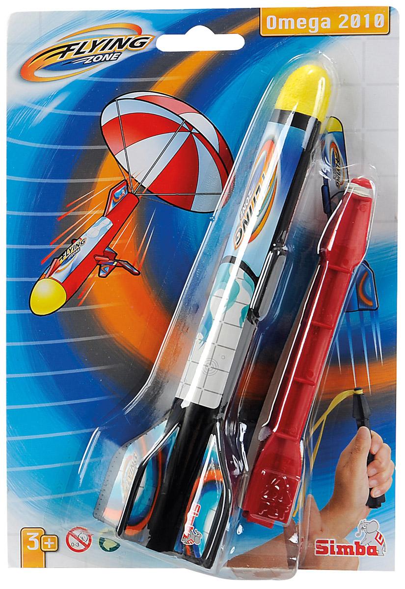 Simba Ракета Omega 2010 цвет черный красный7207709_Красная стрелаРакета Simba Omega 2010 - это отличная игрушка для веселого отдыха на воздухе. Ракета понравится как детям, так и взрослым. Ракета запускается при помощи рогатки, а при спуске у неё открывается парашют. Игрушка изготовлена из яркого безопасного пластика. Игра с такой игрушкой тренирует ловкость, координацию движений и сноровку. Порадуйте своего ребенка таким замечательным подарком!