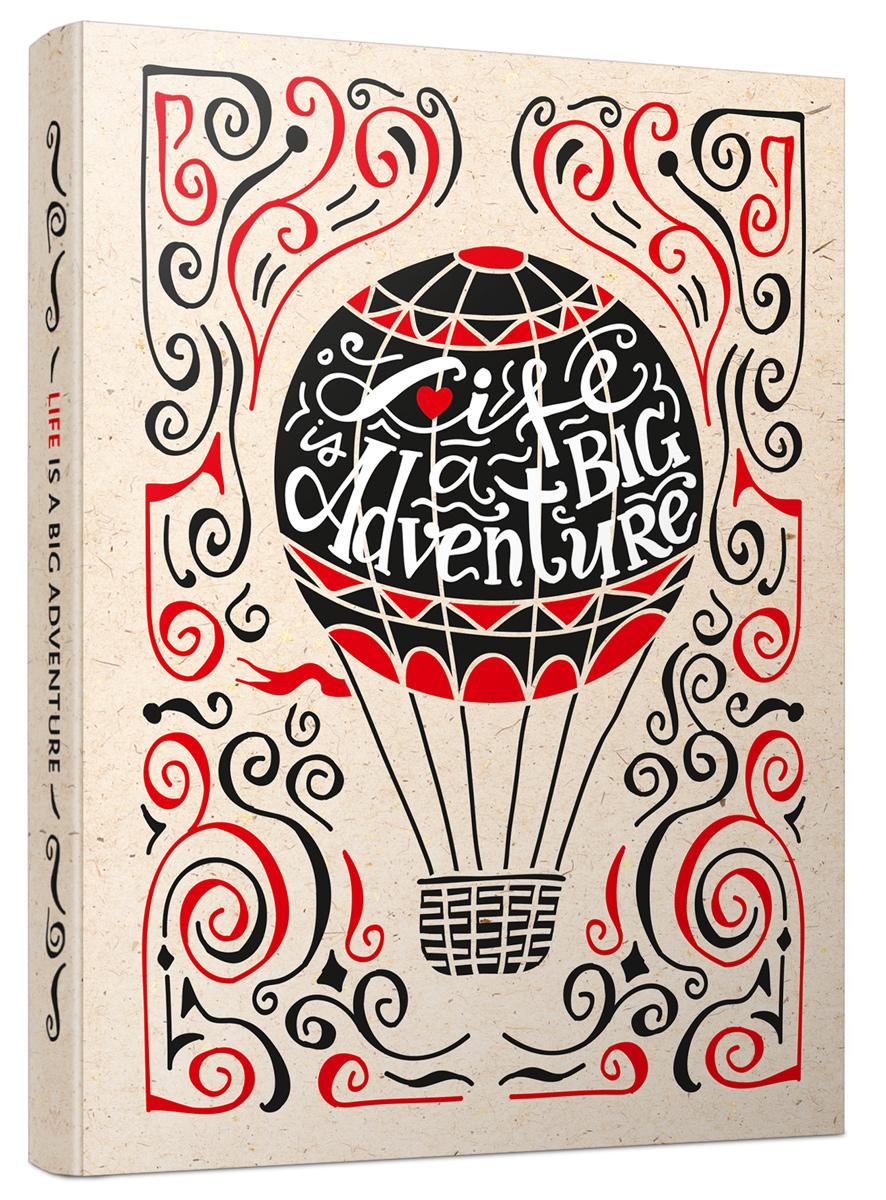 Попурри Блокнот Life Is A Big Adventure 80 листов в клетку/линейку