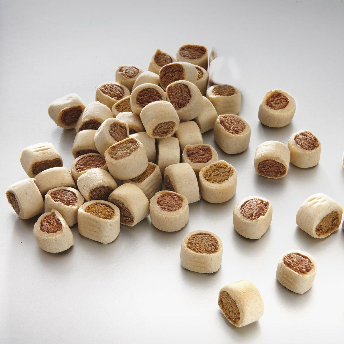 Лакомство для собак Meradog Snacky Mix, мини-роллы, 10 кг41110Печенье (лакомства) для собак. Как вознаграждение, а также дополнение к основному рациону собак