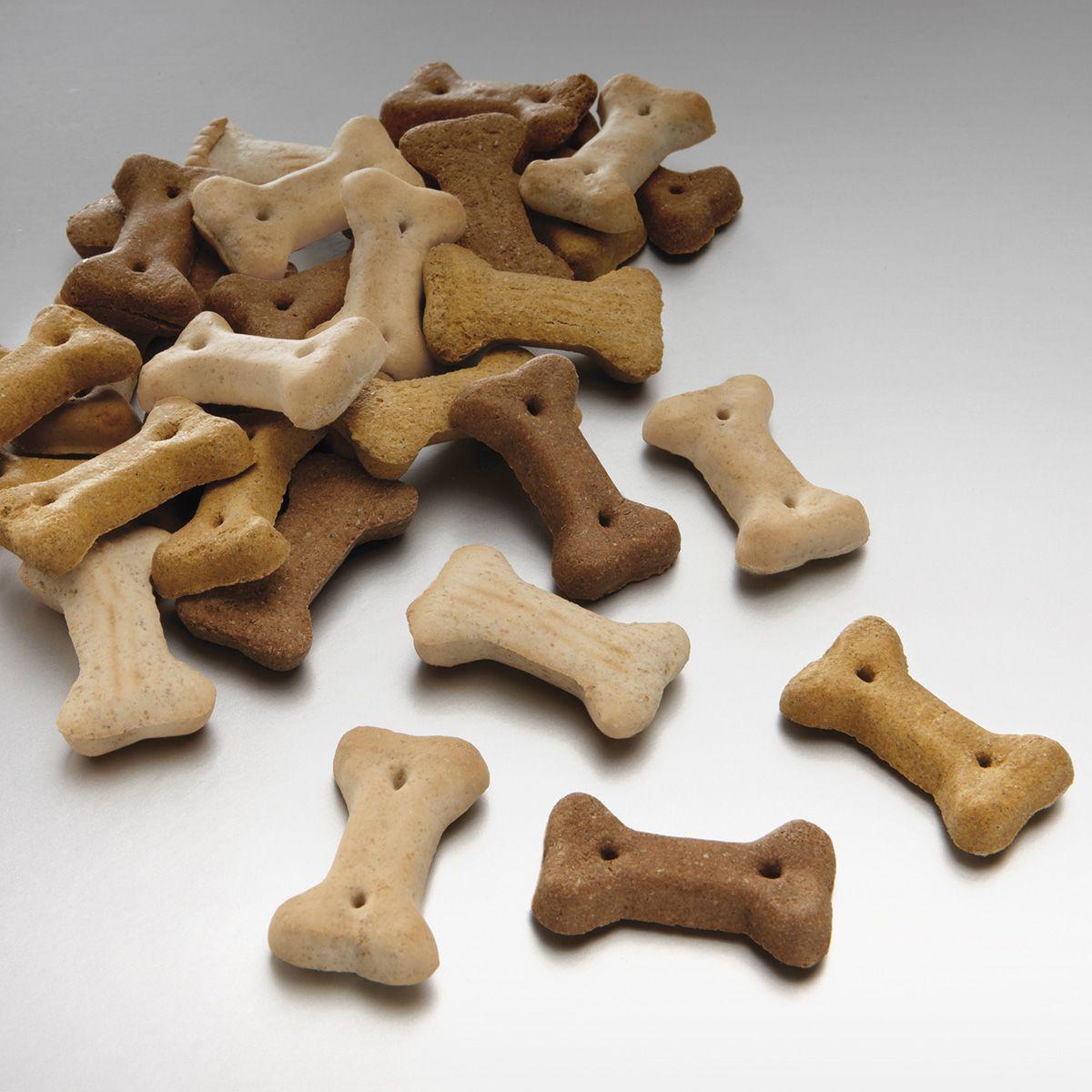 Лакомство для собак Meradog Miniknochen Mix, хрустящие косточки, 10 кг41610Печенье (лакомства) для собак. Как вознаграждение, а также дополнение к основному рациону собак