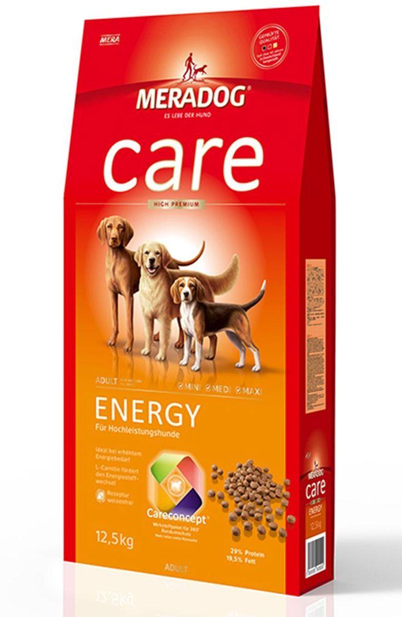 Корм сухой Meradog Energy, для взрослых собак с высоким уровнем активности, 12,5 кг51550Для взрослых собак с высоким уровнем активности и концепция защиты от MERADOG:антиоксиданты (витамин C, Е, бета-каротин и селен) для оптимальной защиты клеток. Натуральные жирные кислоты Омега-3 и Омега-6 (масло лосося, подсолнечное масло и масло льняных семян), а также хелат цинка для кожи и шерсти. Пребиотический инулин для стабильной кишечной флоры и надежного пищеварения. Формула «Запах, стоп!» - комплекс биологически активных веществ для уменьшения неприятного запаха от собаки. L-карнитин способствует жировому и энергетическому обмену. Источники высококачественного белка (птица, яйца, рыба) для поддержания оптимального телосложения и жизнеспособности.
