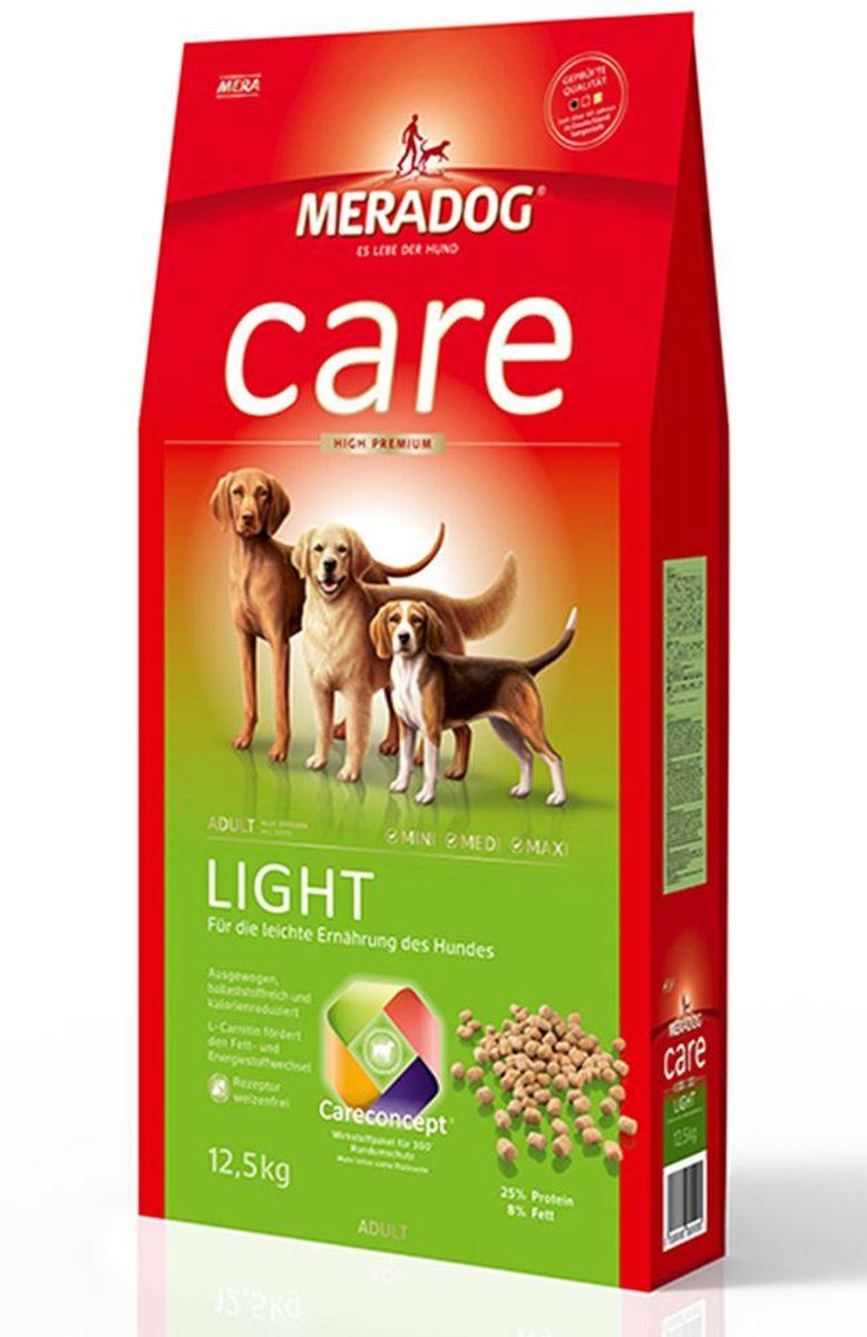 Корм сухой Meradog Light, для взрослых собак, склонных к лишнему весу, 12,5 кг51750Полнорационный легкий корм для взрослых собак, склонных к лишнему весу. Сбалансированный богатый диетической клетчаткой корм пониженной калорийности и концепция защиты от MERADOG:антиоксиданты (витамин C, Е, бета-каротин и селен) для оптимальной защиты клеток. Натуральные жирные кислоты Омега-3 и Омега-6 (масло лосося, подсолнечное масло и масло льняных семян), а также хелат цинка для кожи и шерсти. Пребиотический инулин для стабильной кишечной флоры и надежного пищеварения. Формула «Запах, стоп!» - комплекс биологически активных веществ для уменьшения неприятного запаха от собаки. L-карнитин способствует жировому и энергетическому обмену. Источники высококачественного белка (птица, яйца, рыба) для поддержания оптимального телосложения и жизнеспособности.