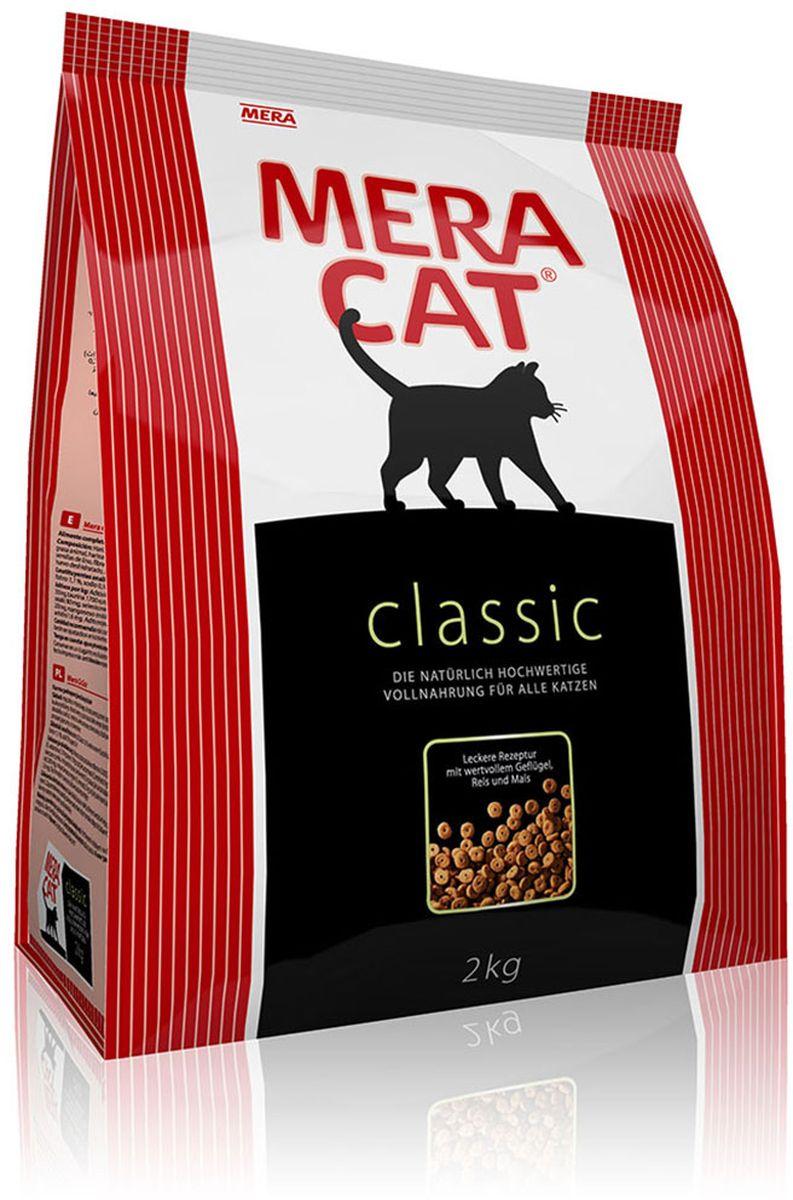 Корм сухой Mera Cat, полнорационный, для кошек всех возрастов, 2 кг59542Корм для кошек Mera Cat - это классический полнорационный корм для кошек всех возрастов Mera Cat удовлетворяет все потребности Вашей кошки в белках, углеводах, жирах, витаминах и минералах в оптимальном количестве