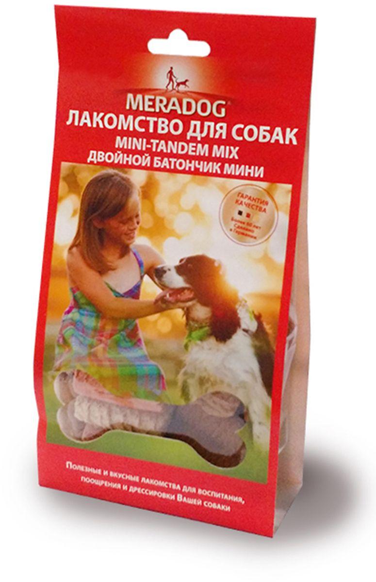 Лакомство для собак Meradog Mini-Tandem Mix, двойной баточник мини, 150 г940910Печенье (лакомства) для собак. Как вознаграждение, а также дополнение к основному рациону собак