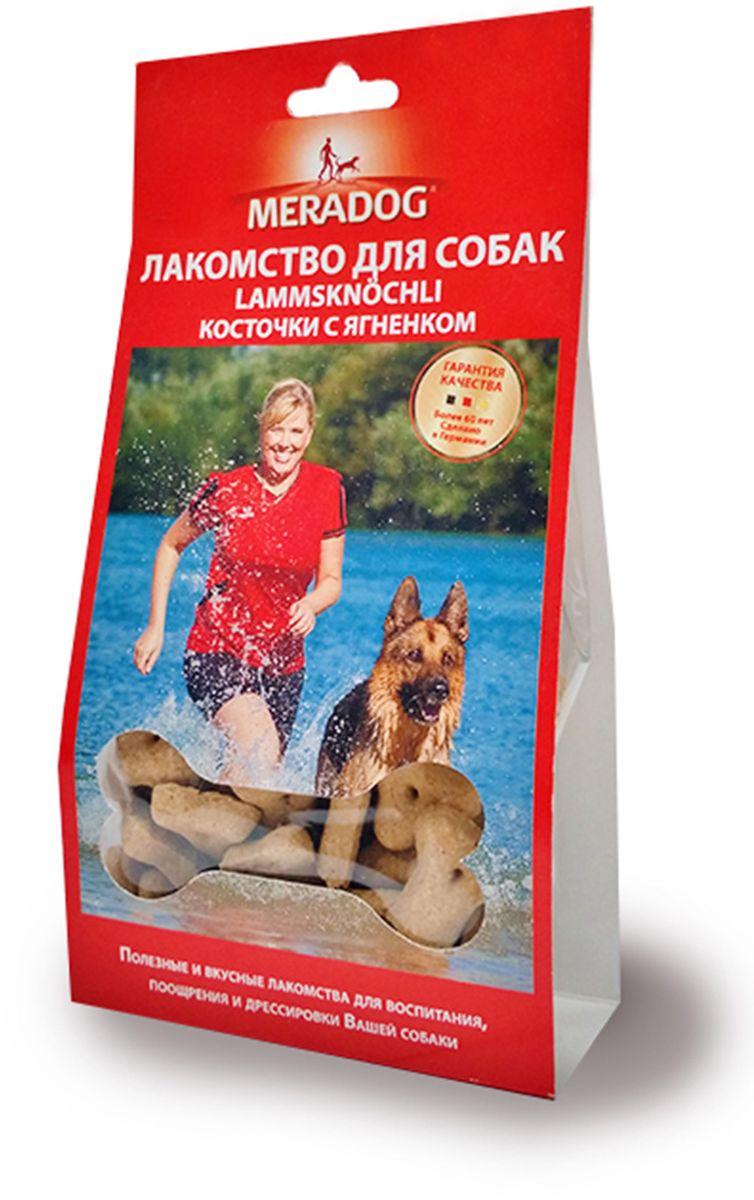 Лакомство для собак Meradog Lammknochli, косточки с ягненком, 150 г943610Печенье (лакомства) для собак. Как вознаграждение, а также дополнение к основному рациону собак