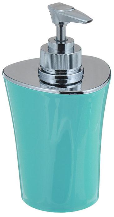 Дозатор для жидкого мыла Vanstore Wiki Blue, цвет: бирюзовый, всота 16 см356-03_бирюзовыйДозатор для жидкого мыла Vanstore Wiki Blue выполнен из высококачественного пластика. Изделие отличается легкостью и компактностью, при этом оно устойчиво. Такой дозатор станет достойным дополнением интерьера ванной комнаты. Размеры дозатора: 8 х 8 х 16 см.