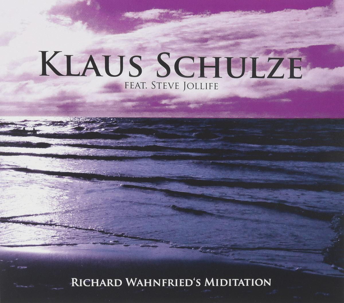 Klaus Schulze Feat. Steve Jollife. Richard Wahnfried's Miditation 2016 Audio CD