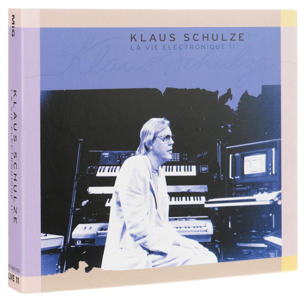 Klaus Schulze. La Vie Electronique 11 (3 CD) 2016 3 Audio CD