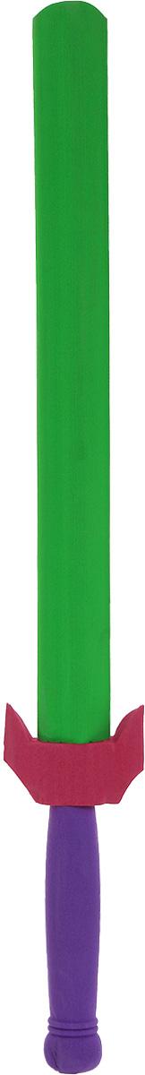 Safsof Китайский меч цвет фиолетовый зеленыйSD-24(C)_фиолетовый, зеленыйКитайский меч Safsof прекрасно подойдет для активных игр или может стать дополнением к маскарадному костюму. Меч изготовлен из вспененной резины и полимерных материалов - это не даст детям поранить друг друга. Каждый мальчик хотя бы раз мечтал стать благородным рыцарем и борцом за справедливость. С китайским мечом это возможно. Фантазия ребенка перенесет его в мир средневековья. Можно организовать посвящение в рыцари, устроить настоящий рыцарский турнир или сразиться за сердце прекрасной дамы, а можно уничтожить невиданное чудовище и спасти целый город! Порадуйте своего ребенка таким необычным подарком!