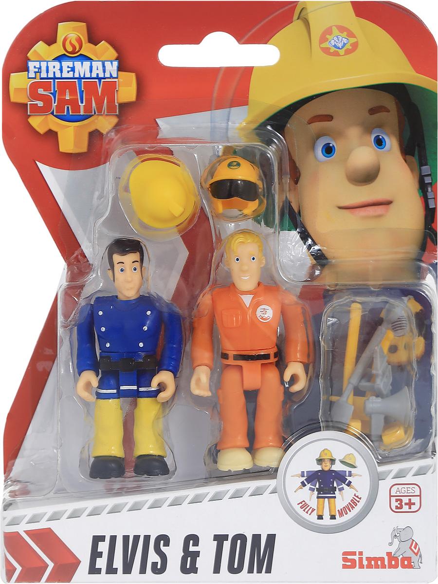 Simba Набор фигурок Elvis & Tom9251050_синий, оранжевыйНабор фигурок Simba Elvis & Tom состоит из двух фигурок, которые смогут потушить любой воображаемый пожар. Данные игрушки обладают функциональными частями: во время игры ребенок сможет изменять положение ног и рук фигурки. Также в комплекте имеются маленькие аксессуары, с которыми игра в пожарных будет только интересней. Набор выполнен из качественных и безопасных материалов.