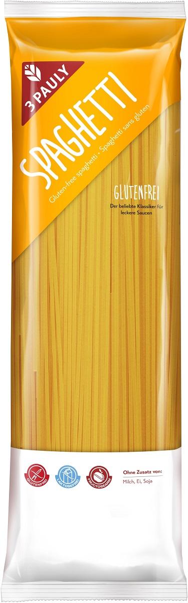 """3 Pauly макаронные изделия """"Спагетти"""" из кукурузной и нутовой муки, без глютена и лактозы, 500 г 2696"""