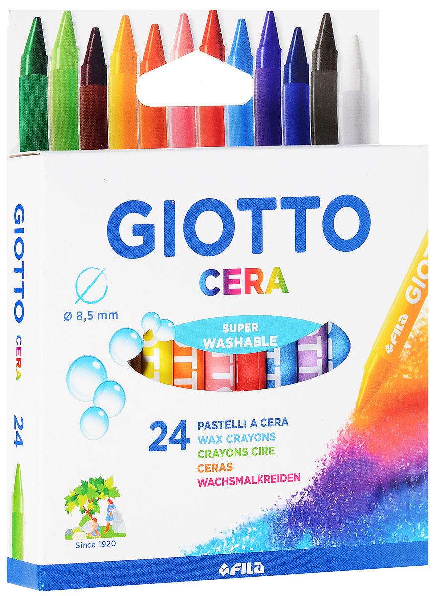 Восковые карандаши Giotto Cera Maxi, 24 цвета282200От производителя Восковые утолщенные карандаши Glotto Cera Maxi прекрасно подойдут для развития детского творчества. Карандаши изготовлены на основе полимерных восков, натуральных наполнителей и высококачественных пигментов. Они не пачкаются, не ломаются, мягкие, прочные, без запаха. Карандаши отличаются яркими и насыщенными цветами, позволяют проводить мягкие и ровные штрихи. Восковые карандаши помогут ребенку развить творческие способности, воображение, цветовосприятие, мелкую моторику рук, усидчивость и аккуратность. Порадуйте своего ребенка таким восхитительным подарком! В комплекте: 24 восковых карандаша. Восковые утолщенные карандаши Glotto Cera Maxi прекрасно подойдут для развития детского творчества. Карандаши изготовлены на основе полимерных восков, натуральных наполнителей и высококачественных пигментов. Они не пачкаются, не ломаются, мягкие, прочные, без запаха. Карандаши отличаются яркими и насыщенными цветами, позволяют проводить мягкие и...