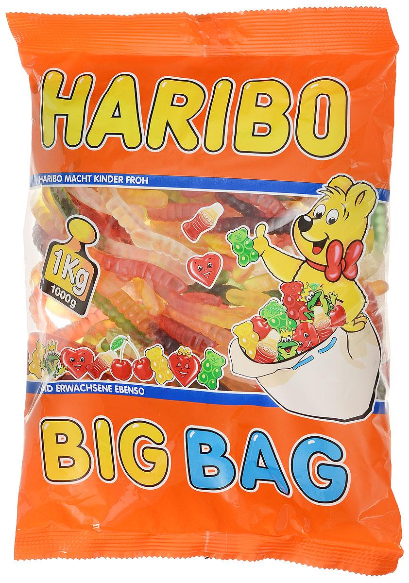 Haribo Червячки Вуммис жевательный мармелад, 1 кг37730Wummis Haribo - жевательный мармелад в форме червячков с комбинацией нескольких вкусов: Абрикос / Апельсин Клубника / Ананас Лимон / Малина Это гармоничное сочетание сладости, игрушки и пользы для детей! Haribo Wummis - это жевательный мармелад, который пользуется феноменальной популярностью у маленьких любителей сладкого! Уважаемые клиенты! Обращаем ваше внимание, что полный перечень состава продукта представлен на дополнительном изображении.
