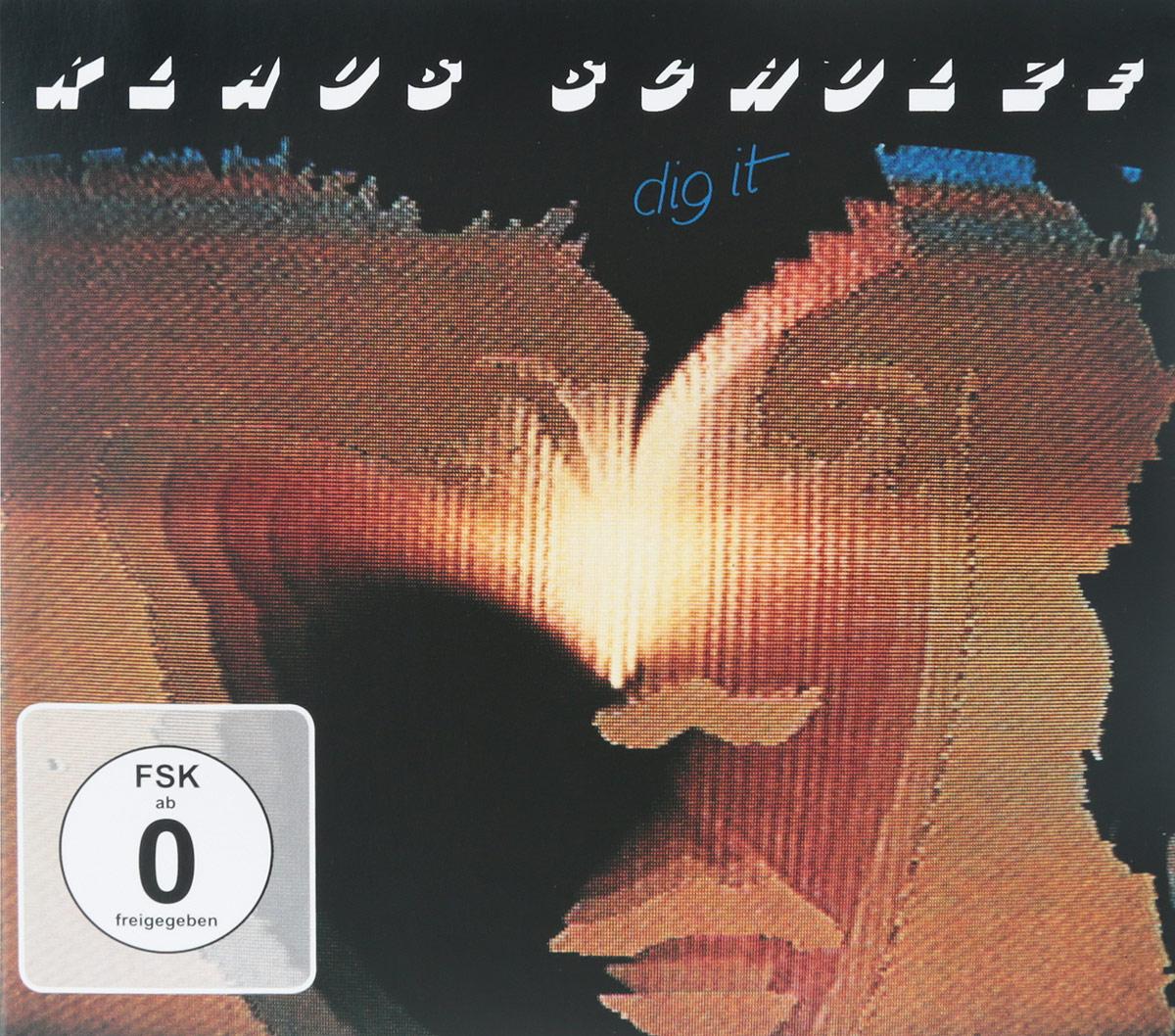 Klaus Schulze. Dig It (CD + DVD) 2016 2 CD + DVD