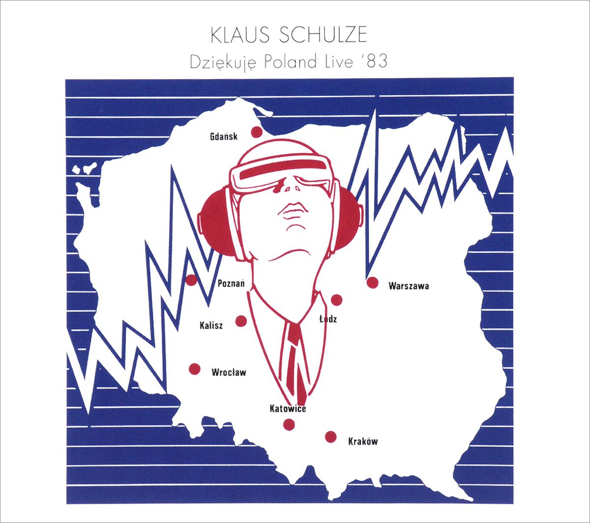 Klaus Schulze. Dziekuje Poland Live 83 (2 CD) 2016 2 Audio CD