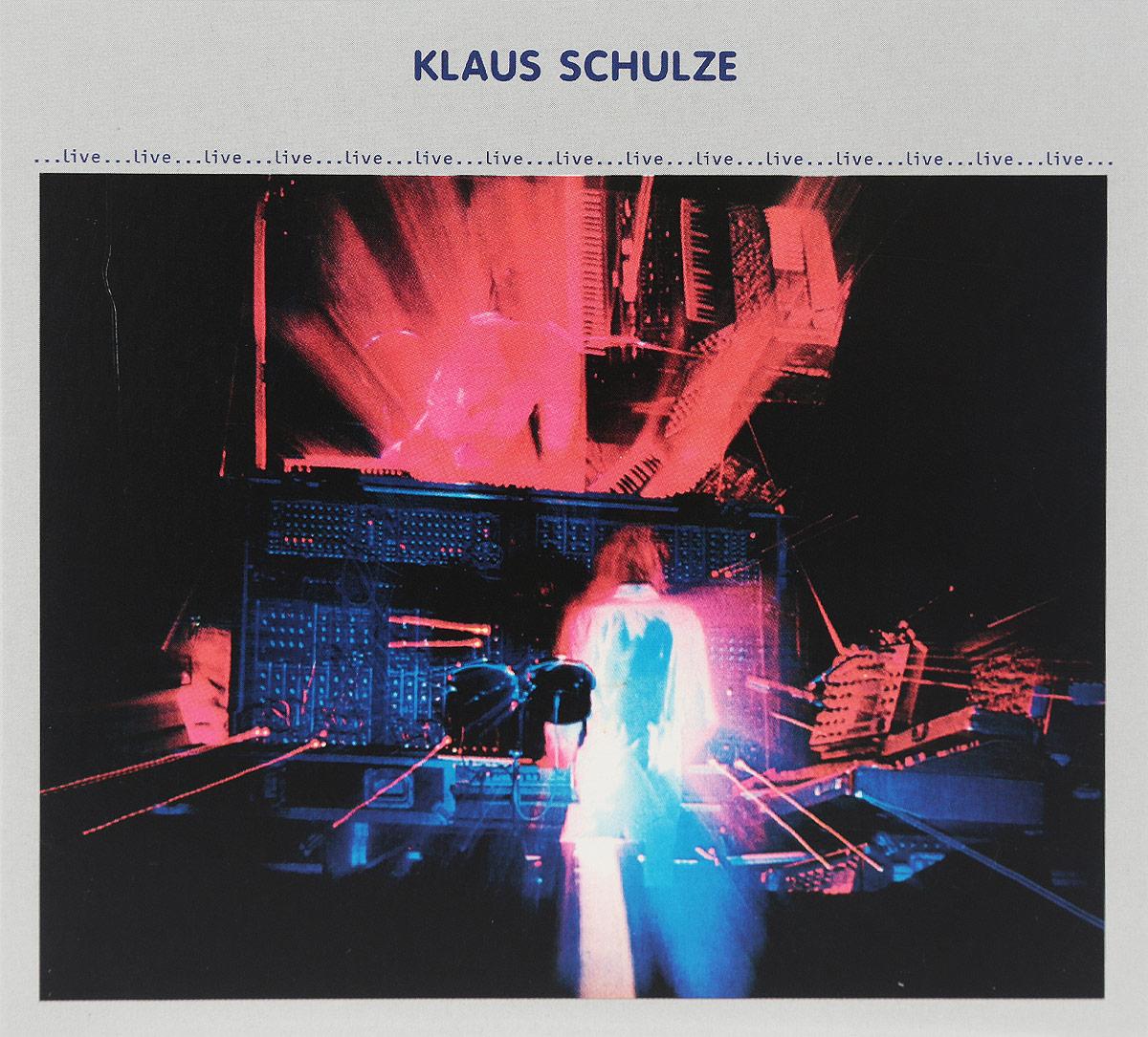 Klaus Schulze. Live (2 CD) 2016 2 Audio CD