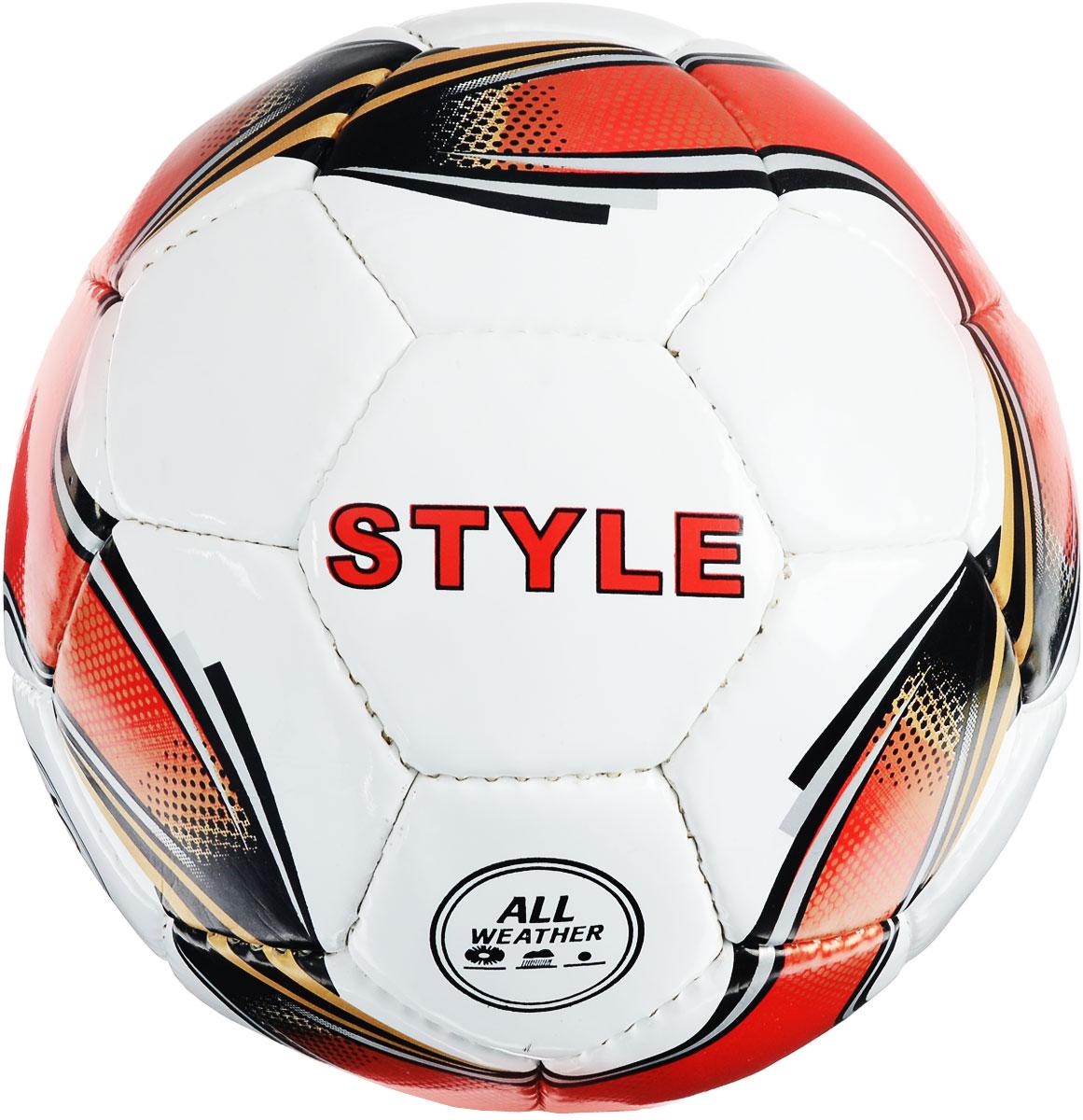 Мяч футбольный Torres Style. Размер 528259519_красный, белыйМяч футбольный Torres Style выполнен из прочного полиуретана под натуральную кожу толщиной 1,2 мм на нетканой основе, снабжен 4 подкладочными слоями и латексной камерой с бутиловым ниппелем. Мяч имеет 32 панели, сшитые вручную. Устойчив к трению и износу, подходит для игры на любых поверхностях в любых погодных условиях. Футбольный мяч Torres может выдерживать не только грунтовые поверхности, но и асфальт, он стойкий к сильным ударам, комфортный и оригинальный благодаря своему дизайну. УВАЖАЕМЫЕ КЛИЕНТЫ! Просим обратить ваше внимание на тот факт, что мяч поставляется в сдутом состоянии и надувается при помощи насоса (насос не входит в комплект).
