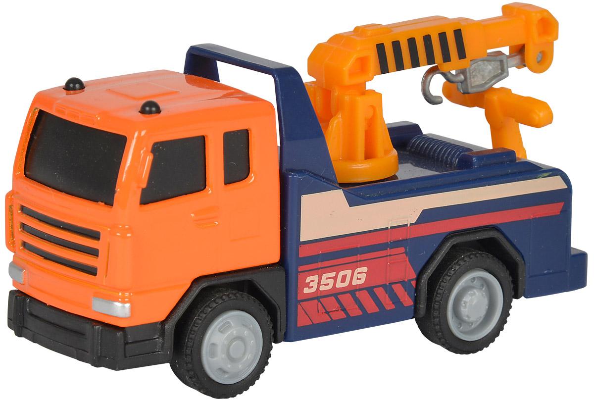 Dickie Toys Автокран City Crew3340002Автокран Dickie Toys City Crew - интересная машина для ребенка, который увлекается игровой спецтехникой. Машина имеет свободный ход движения и поворотную башню крана.Техника в точности повторяет транспортное средство с характерной цветовой гаммой, поворотным корпусом и тематическими наклейками на корпусе. Игрушка окрашена в стойкие насыщенные цвета безопасными красителями. С автокраном Dickie Toys City Crew ваш ребенок сможет развернуть настоящую строительную площадку. Играя с такой машинкой ребенок развивает фантазию, пространственное мышление и адаптируется через игру к окружающему миру.