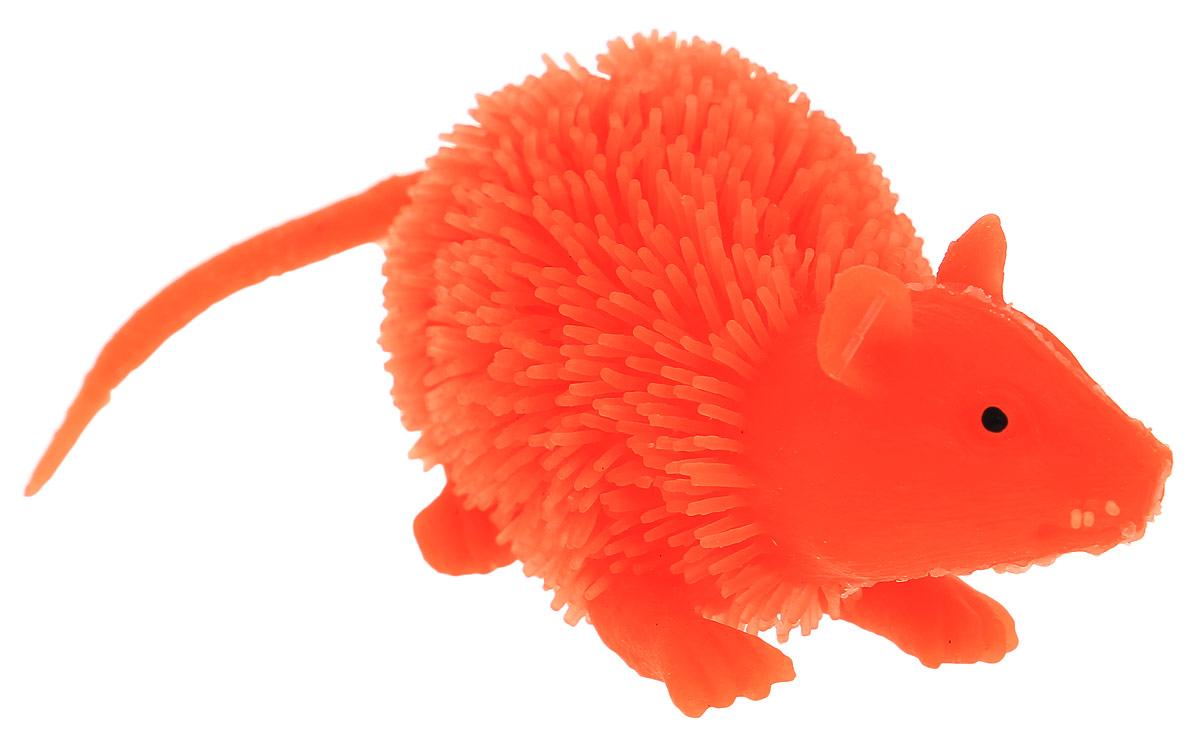 HGL Фигурка Мышь с подсветкой цвет оранжевыйSV11195_красно-оранжеваяФигурка HGL Мышь - это мягкая резиновая игрушка в виде мышки с резиновым ворсом. Взяв игрушку в руки, расстаться с ней просто невозможно! Её не только приятно держать в руках: если перекинуть игрушку из руки в руку, она начнёт мигать цветными огоньками. Данная игрушка рассчитана на широкую целевую аудиторию - как детей от пяти лет, так и взрослых. Мышь обязательно станет вашим самым любимым забавным сувениром. Игрушка работает от 3 незаменяемых батареек AG3 (LR41).