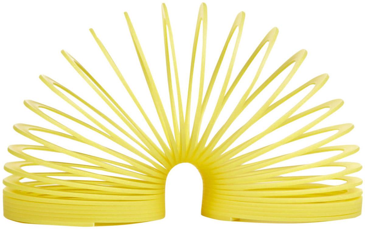 Пружинка Slinky, цвет: желтыйСЛ110Пружинка Slinky - 100% классика жанра, идеально подходит для запуска по ступенькам! Пружинка Slinky появилась после Второй Мировой Войны. Эта пружинка - одна из самых любимых и известных игр в мире. Из пружинок делали гирлянды, играли с ними, запутывали, распутывали, пытались заставить ходить по ступенькам лестницы. Пружинка Slinky была в каждом доме. Порадуйте и вы себя этой увлекательной игрой с пружинкой. Характеристики: Диаметр пружины: 9,5 см. Цвет: желтый.