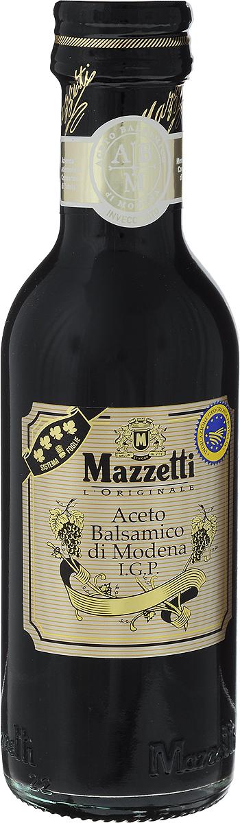 Mazzetti уксус бальзамический 4 листочка, 250 мл65104Бальзамический уксус Mazzetti получен путем бережной ферментации отборного виноградного сусла и созревает в течение долгих лет в дубовых бочонках. Черный знак 4 листочка означает полнотелый вкус и пьянящий аромат. Рекомендуется для эксклюзивных рецептов, для добавления в клубнику, мороженое и к сыру Пармезан. Уважаемые клиенты! Обращаем ваше внимание, что полный перечень состава продукта представлен на дополнительном изображении.