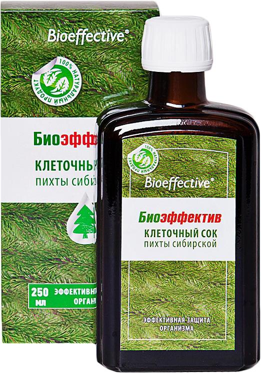 БиоЭффектив клеточный сок пихты сибирской, 250 мл2954Клеточный сок пихты - помощь иммунитету в зимний и весенний период, а также во время повышенных нагрузок. Экономная упаковка, для всей семьи на холодный период! Производится из свежезаготовленной хвои путем углекислотной экстрактации. То есть никаких повышенных температур, органических растворителей и консервантов - вся сила тайги добыта и сохранена в первозданном виде. Сок пихты БиоЭффектив уникален по своим свойствам. Он способен поднять тонус всего вашего организма. В состав сока входит витамин С, каротин, мальтол, многочисленные макро- и микроэлементы. Мальтол - сильнейший природный антиоксидант, он не дает свободным радикалам разрушать клетки организма и улучшает всасываемость и усвоение железа. Продукт не содержит консервантов, стабилизаторов, сахара, спирта, воды из внешних источников – это абсолютно натуральный, экологически чистый продукт, который отлично подходит детям и лицам пожилого возраста для оздоровления и укрепления организма.